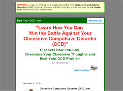 Beat Your OCD Handbook