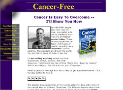 Cancer-Free -- Your Guide To Gentle, Non-Toxic Healing