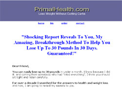 Primal Weight Loss