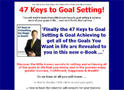 47 Little Known Keys To Goal Setting