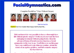 Facial Gymnastics: Complete Facelift In 7 Days Without Surgery