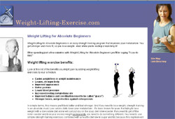 Weight Lifting for Absolute Beginners