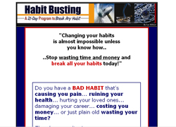 Habit Busting Secrets: How to Break Any Habit in 21 Days