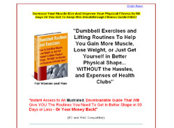 Dumbbell Routines and Exercises Fitness Guide