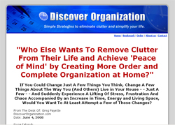 The Definitive Guide to Home Organization for Busy People: How to Quickly and Easily Clear Clutter