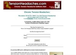 How to Get Permanent Relief From Chronic Tension Headaches Program