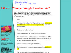Lillie's Souper Weight Loss Plan