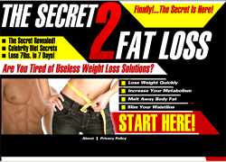 The Secret 2 Weight Loss