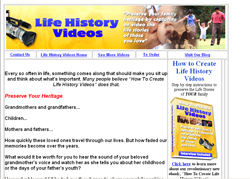 How To Create Life History Videos