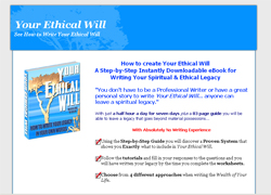 How To Write Your Spiritual Ethical Will