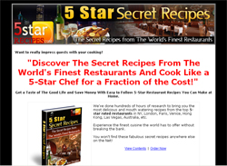5 Star Secret Recipes