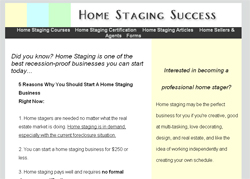Home Staging Course
