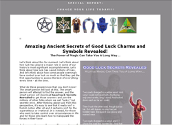 Secrets Of Good Luck Charms And Symbols Revealed!