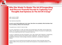 Superior Songwriting: The Ultimate Guide To Writing And Selling Your Songs