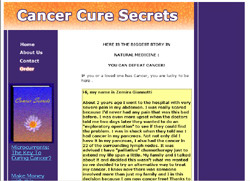 Cancer Cure Secrets