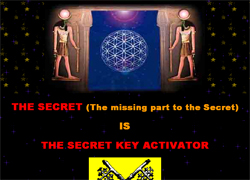 The Secret Key Activator