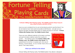 Fortune Telling with Playing Cards! The Middle Eastern Way