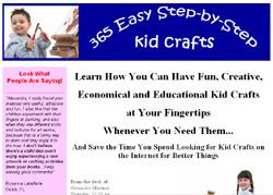 365 Easy Step-by-Step Kid Crafts