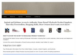 The Wholesale Secrets Guide