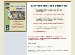 Backyard Birds and Butterflies