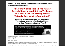 The Football Formula: Your Inside Track to Punting Riches