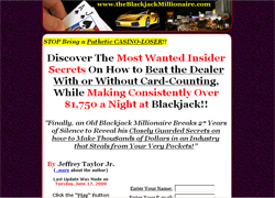 The Blackjack Millionaire's Most Wanted Insider Secrets