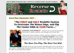 Reverse Roulette: The More You Play The More You Win!