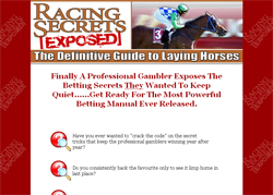 Racing Secrets Exposed: The Definitive Guide to Laying Horses