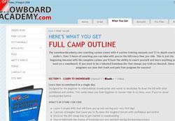 SnowboardAcademy.com Training