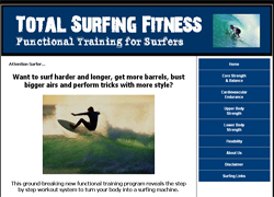 Total Surfing Fitness: Functional Training for Surfers