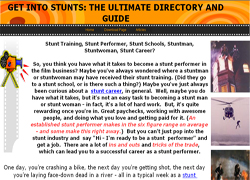 Get Into Stunts: The Ultimate Directory And Guide