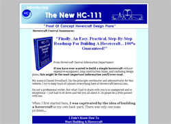 HC-111 Hovercraft Design Plans
