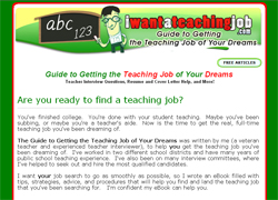 Guide to Getting the Teaching Job of Your Dreams