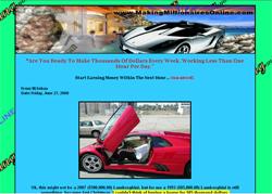 Making Millionaires Online