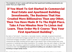 Buy Your First Apartment Building
