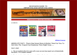 The Beginners Guide to Importing/Exporting Automobiles