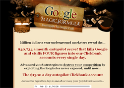 Google Magic Formula