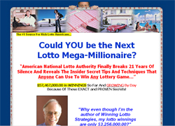 Winning Lotto Strategies