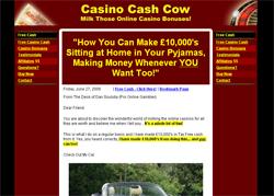Casino Cash Cow: Milk Those Online Casino Bonuses