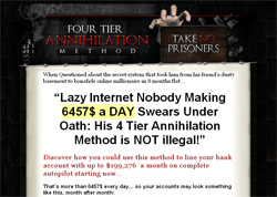 Four Tier Annihilation Method