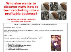 Crocheting For Profit