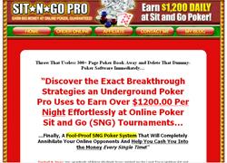 Sit-N-Go Pro Handbook