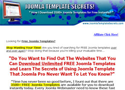 Joomla Template Secrets: The Missing Manual
