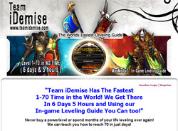 Team iDemise 1-70 Alliance and Horde Leveling Guides