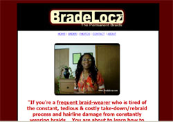 Bradelocz : A Guide to Growing a Beautiful, Healthy Head of Locs from Simple Braids