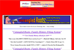 Untangled Roots: Family History Filing System