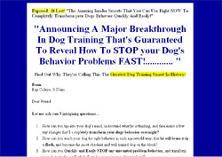 Dog Training Mastery: An Owners Manual!