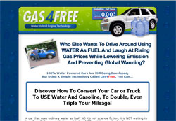 Gas4Free Water-Fuel Conversion System