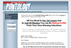Puntology: A Step-By-Step, 52-Week Training Program For Becoming A Succesful Pro Gambler!
