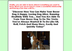 Boxer Dog Secret's �Your Ultimate Guide To Make Your Dog Happy, Healthy And Obedient!